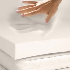 contours my body perfectly and supports my back--best memory foam mattress topper