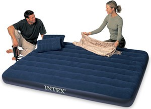 Intex Classic Downy Queen with 2 Pillows